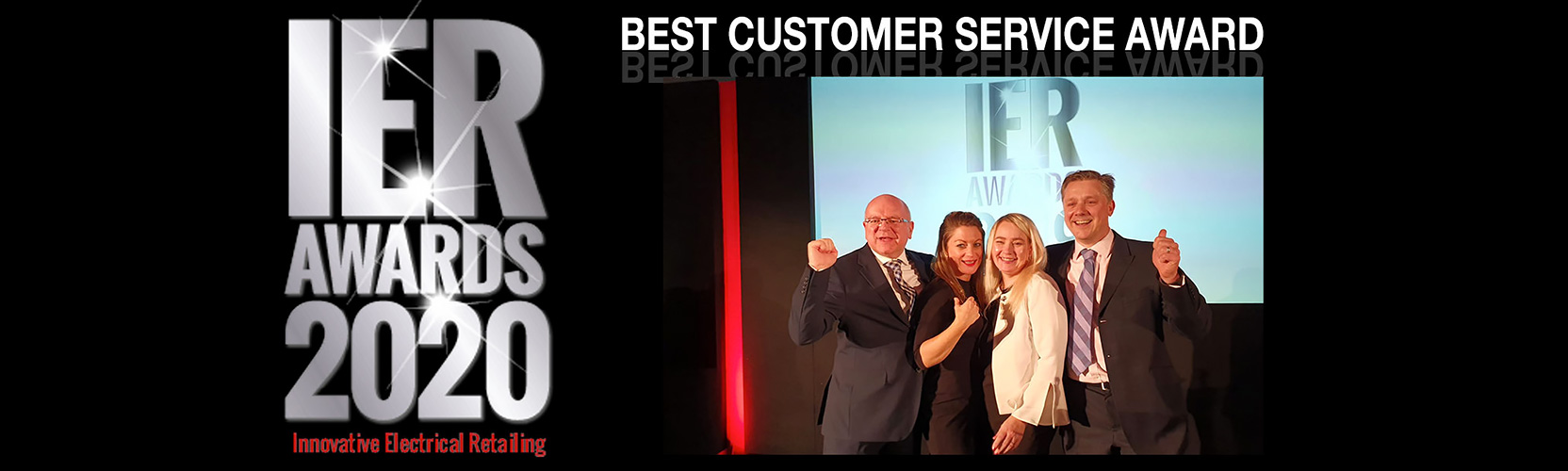 Forbes Rentals receiving the award for Best Customer Service