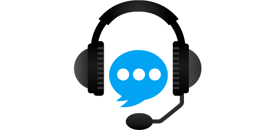 headset and microphone icon