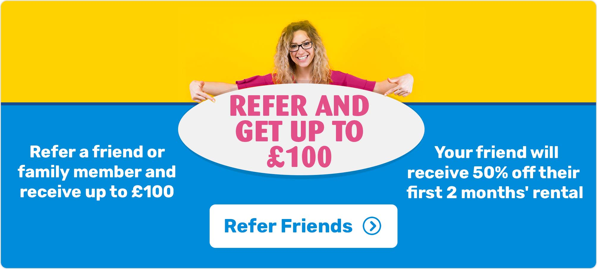 Refer a Friend to Forbes Rentals